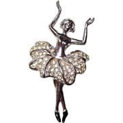 Beautiful Ballerina Brooch