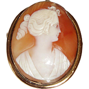 Victorian Cameo of a Woman