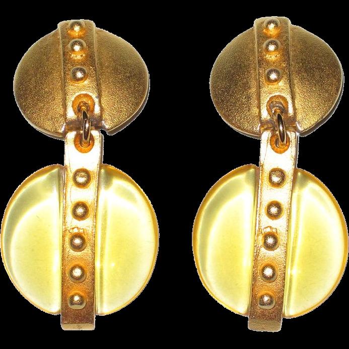 Vintage Clip Earrings