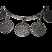 Victorian Love Token Tambourine Bracelet