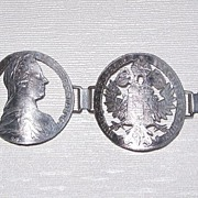 Maria Theresa Thaler Bracelet and Pin