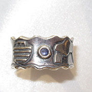 Sterling Noah's Ark Ring