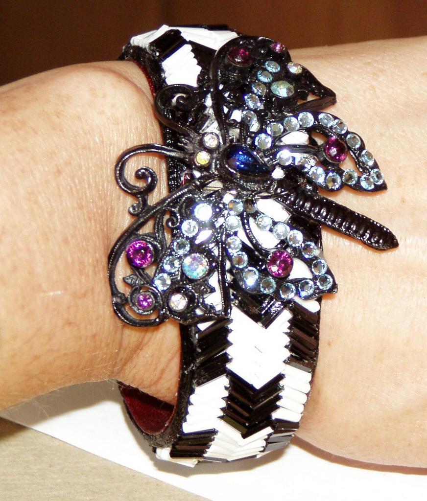 One of a Kind Artist Bracelet Butterfly