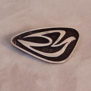Parker Sterling Modern Silver Dove Brooch