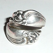 Beautiful Sterling Spoon Ring