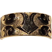 Victorian Wedding Band Wide