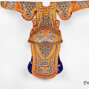 Early 20th Century Chinese Embroidered Theatrical Robe