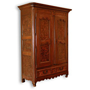 18th Century French Provincial Louis XVI Armoire