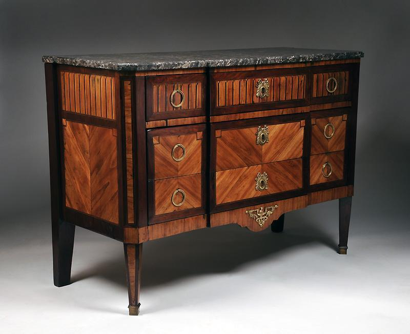 French Neoclassical Directoire 18th Century Commode