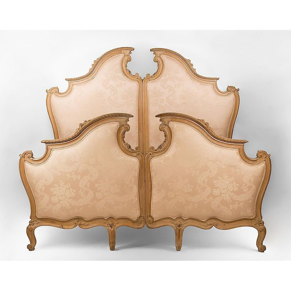 Italian Hand Carved Over-Sized Queen Bed