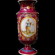 19th Century Paris Porcelain Second Empire Neoclassical Vase