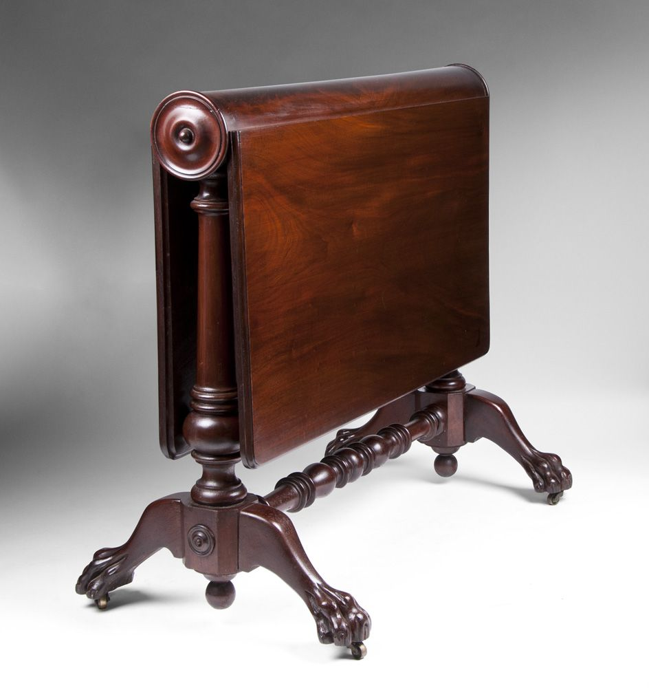 American Empire Book Hinged Sutherland Table