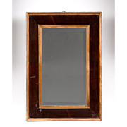 19th C. American Classical Mahogany Mirror
