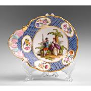 Helena Wolfson Porcelain Hand Painted Dish