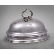 Mid 19th C. Sheffield Silver Meat Cover Dome From Duke Of Wellington Service