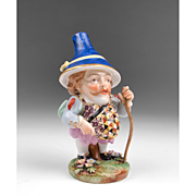 1806 – 1825 Derby Porcelain Mansion House Dwarf