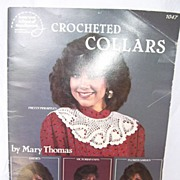 1986 Crochet Booklet for Crocheted Collars