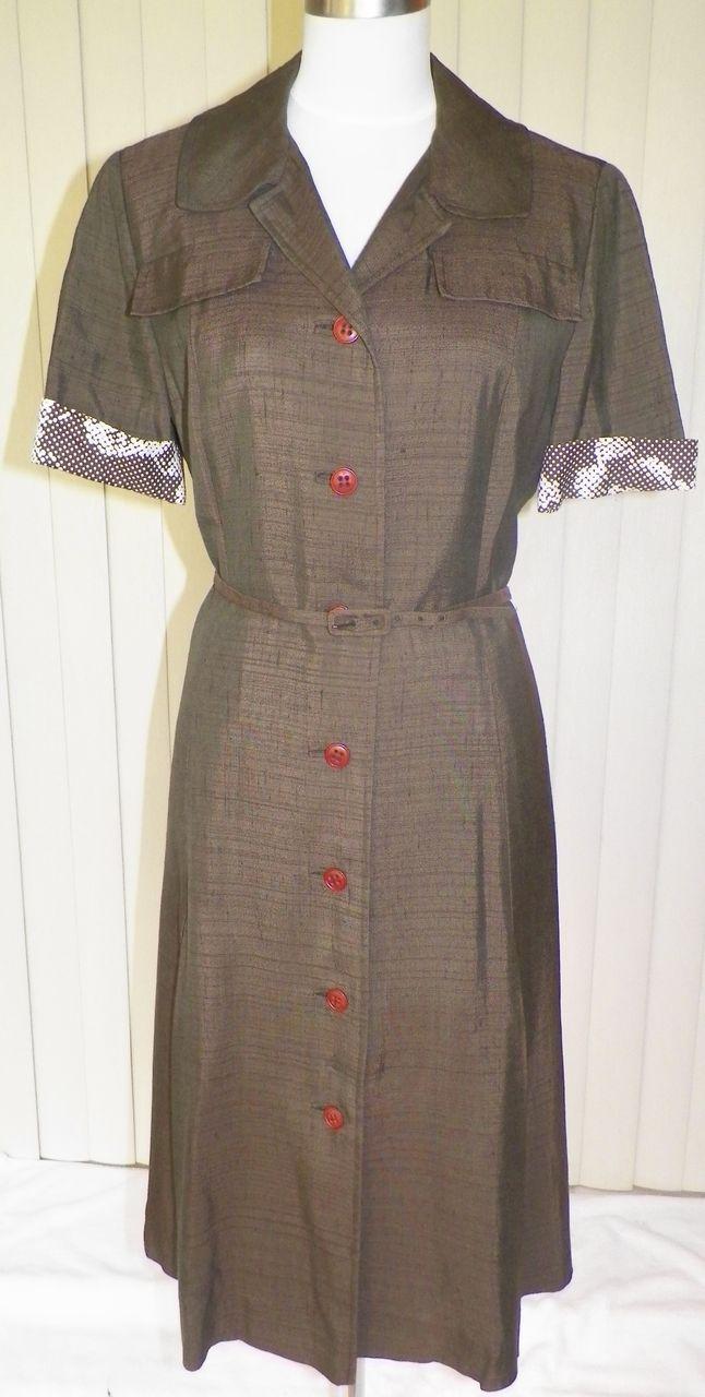 1950s Secretary / Office Dress