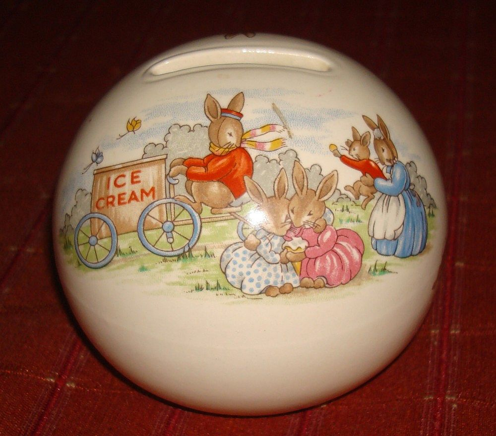 Royal Doulton Bunnykins Ball Bank