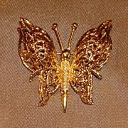 Monet Butterfly Pin