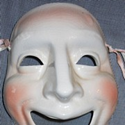 "Early Vandor "" Comedy "" Ceramic Wall Mask"