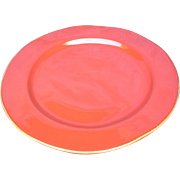 """Vietri - Rosso Vecchio - Red 12"""" Dinner plate/Charger"""