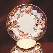 Royal Crown Derby china - Imari trio