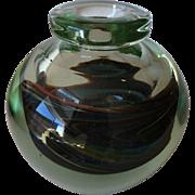 Art glass vase, signed Nolaro