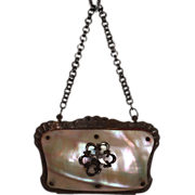 Antique Mother of Pearl Coin Purse