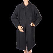 Vintage 60s Ladies Mod Coat Zelinka Matlick Tailored Woman New York Size L