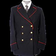 Vintage Canada Post Office 1965 Uniform Jacket for Canadian Letter Carrier Postal Worker