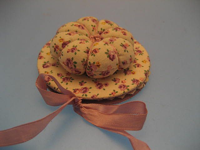 Pin Cushion Hat - Victorian