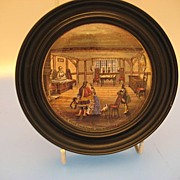 Pot Lid,  Shakespeare's Birth Place - Victorian