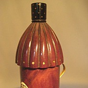 Figural Etui; Miniature Lantern in Mahogany - Georgian/Regency