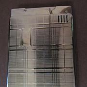 SOLD Chrome Lido Automatic Lighter, Cigarette Case