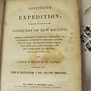 1848 Doniphan's Expedition by John T Hughes A B of the First Regiment of Missouri Cavalry, Ill