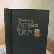1893 The Works of Alexandre Dumas, Volume Three, Three Musketeers, Twenty Years After, Illustr