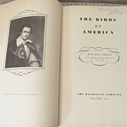 1937 Large, Birds of America, John James Audubon, MacMillan Company