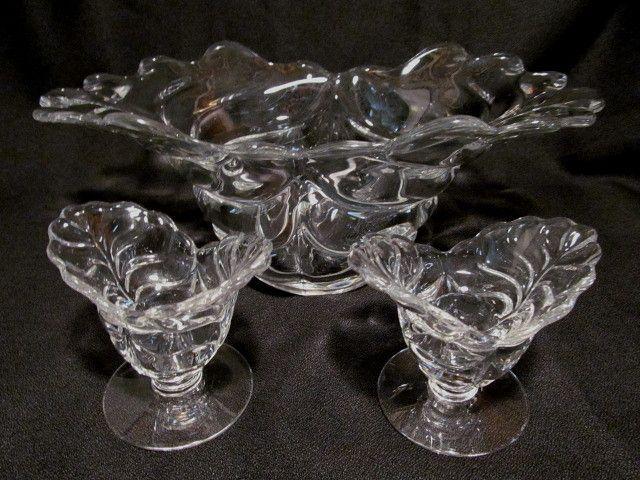 Pretty Sylvan, Duncan Miller Bowl & Candle Holders