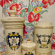 3 Apothecary Jars by Blair