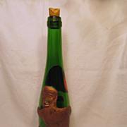 1968 German Monkey Wine Bottle