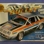 MPC Sealed 1980 Silver Bullet Omni 024, 1/25 Scale Model Kit