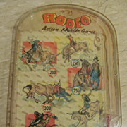 Wolverine Rodeo Pin Ball Game, Action Marble