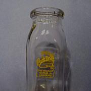 Park Drive Dairy,Galesburg Half Pint Milk/Cream Bottle