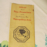 1920's Official San Francisco Map