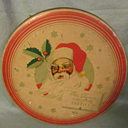 Mrs Steven's Santa Candy Tin