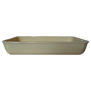 Vintage Fire King Ivory Baking Pan