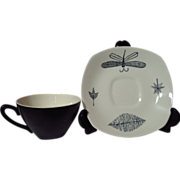 Vintage Midwinter Stylecraft Nature Study Cup and Saucer Duo - 6 Available
