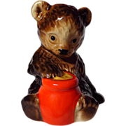 Goebel Brown Bear With Honey Pot Figurine