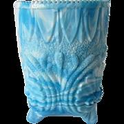 Victorian Slag Glass Spooner by George Davidson
